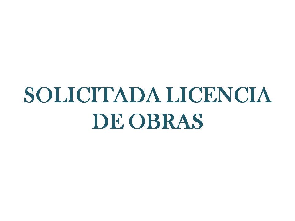 SOLICITADA LICENCIA DE OBRAS AL AYUNTAMIENTO DE JEREZ
